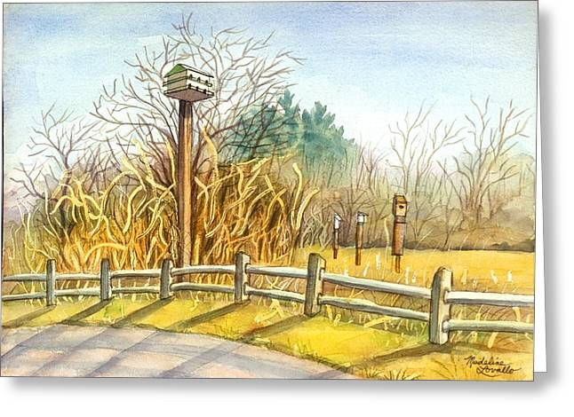 Birdhouse At Gateway National Park Greeting Card