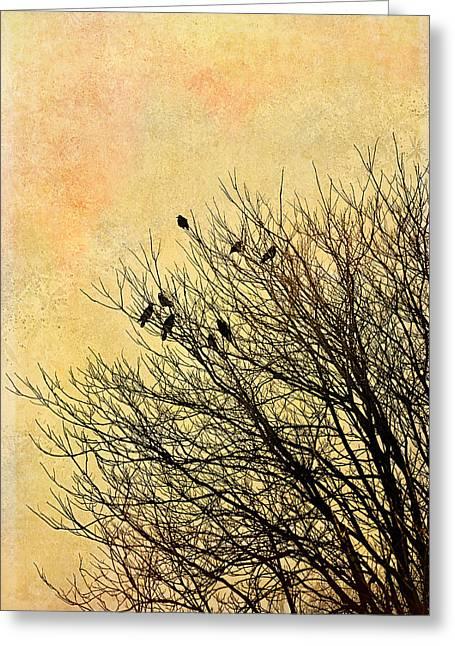 Birds Greeting Card by Gynt