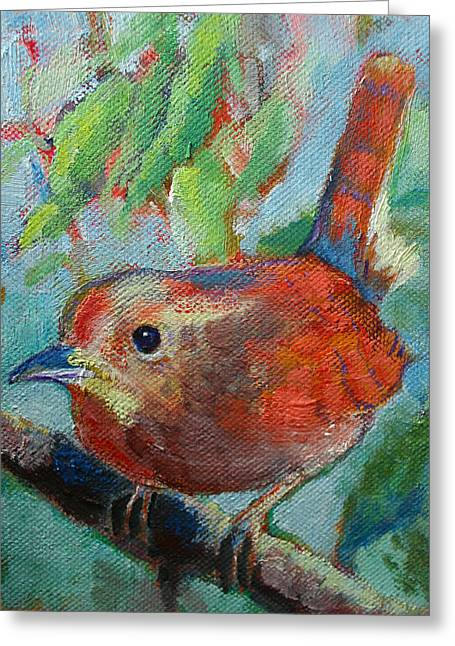 Bird's Morning Song Greeting Card