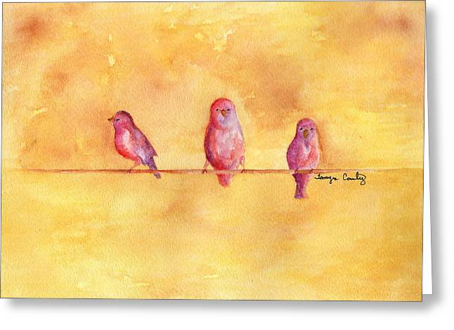 Birds Of A Feather - The Help Greeting Card