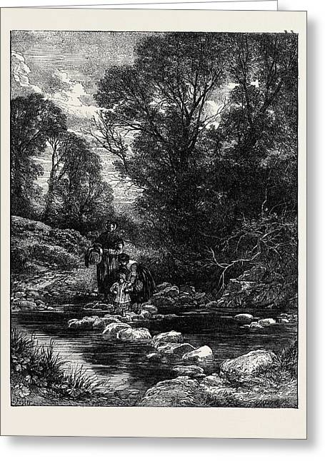 Birkett Fosters Pictures Of English Landscape Greeting Card