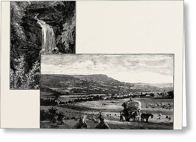 Birks Of Aberfeldy Left Aberfeldy, From The West Right Greeting Card