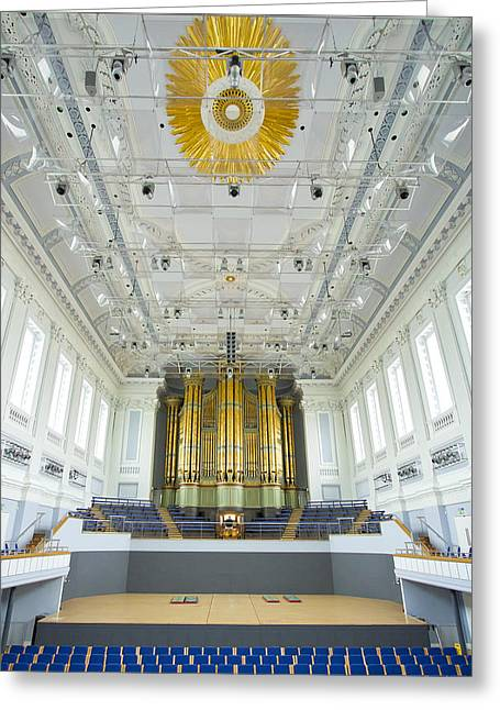 Birmingham Town Hall Greeting Card