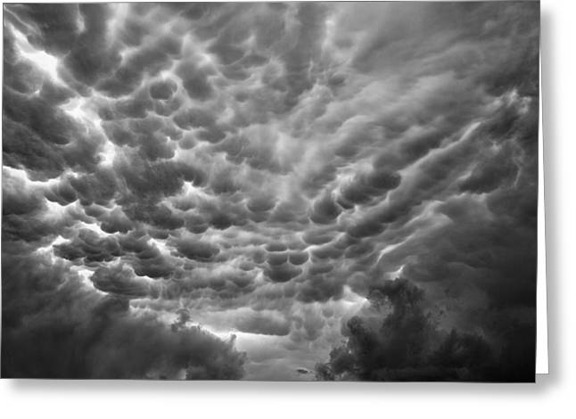 Birth Of A Mammatus Greeting Card by Robert FERD Frank