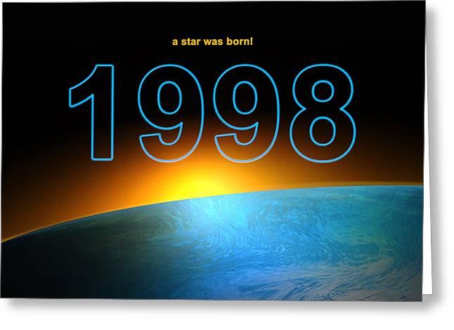 Birth Year 1998 Digital Art By Alexander Drum