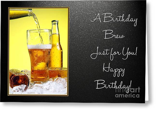 Birthday Brew Greeting Card