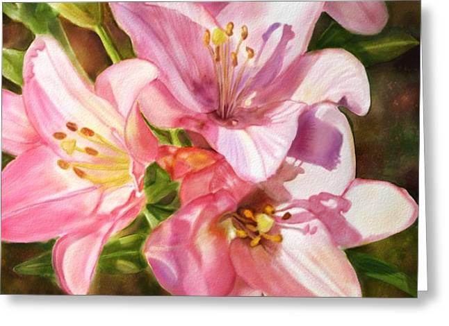 Birthday Flowers Greeting Card