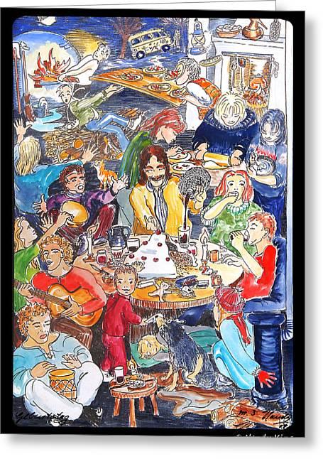 Birthday Greeting Card by Nandy King