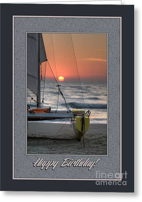 Birthday Sailboat Greeting Card