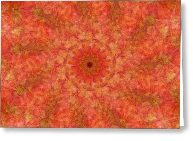 Birthing Mandala 17 Greeting Card
