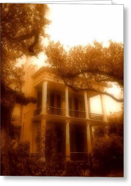 Birthplace Of A Vampire In New Orleans, Louisiana Greeting Card