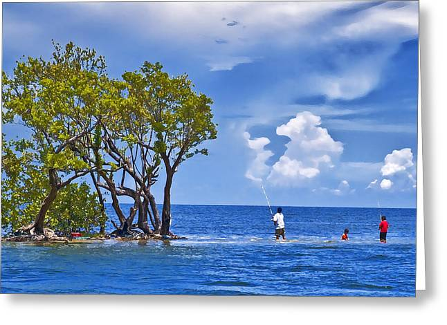 Biscayne Bay Life Greeting Card