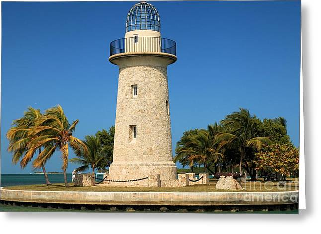 Biscayne Lighthouse Greeting Card