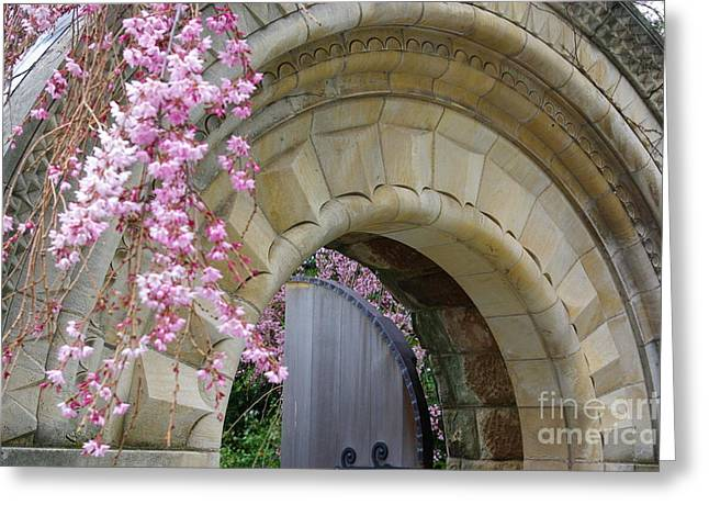 Greeting Card featuring the photograph Bishop's Gate by John S