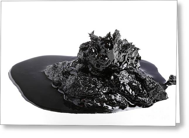 Bitumen Greeting Card by Victor De Schwanberg
