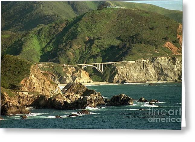 Bixby Bridge Greeting Card by DJ Laughlin
