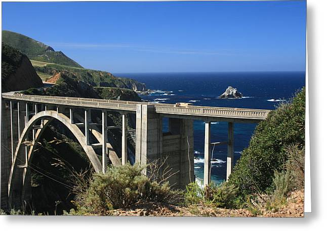 Bixby Bridge Greeting Card