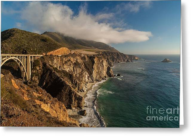 Bixby Coastal Drive Greeting Card by Mike Reid