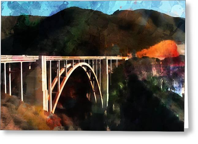 Bixby Creek Bridge Greeting Card by Robert Smith