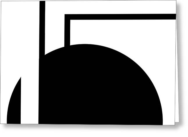 Black And White Art - 127 Greeting Card