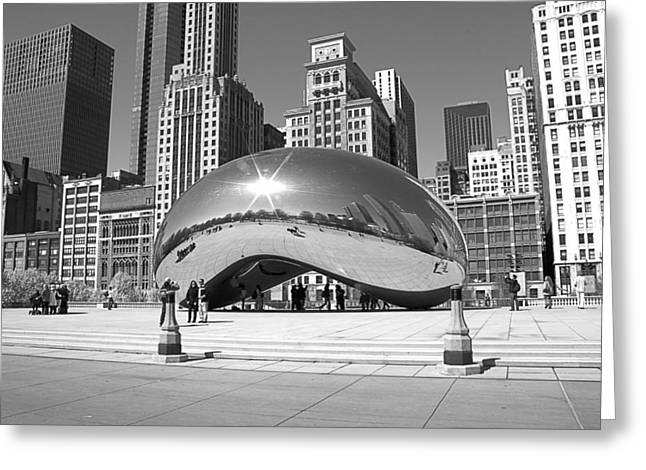 Chicago - The Bean Greeting Card