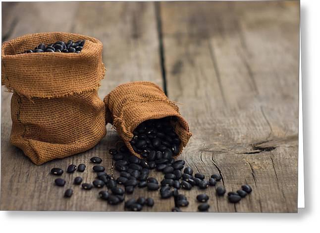 Black Beans Greeting Card