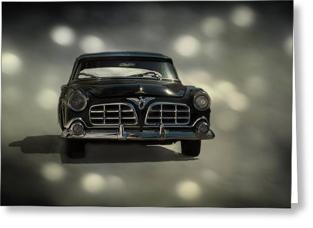 Black Beauty Greeting Card by Mario Celzner