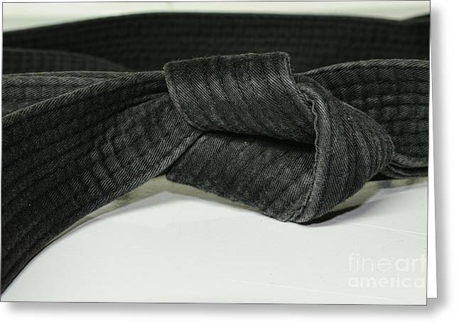 Black Belt Greeting Card