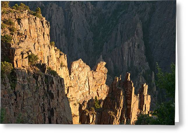 Greeting Card featuring the photograph Black Canyon Sitting Camel  by Eric Rundle