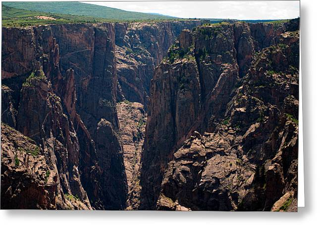 Greeting Card featuring the photograph Black Canyon The Narrows  by Eric Rundle