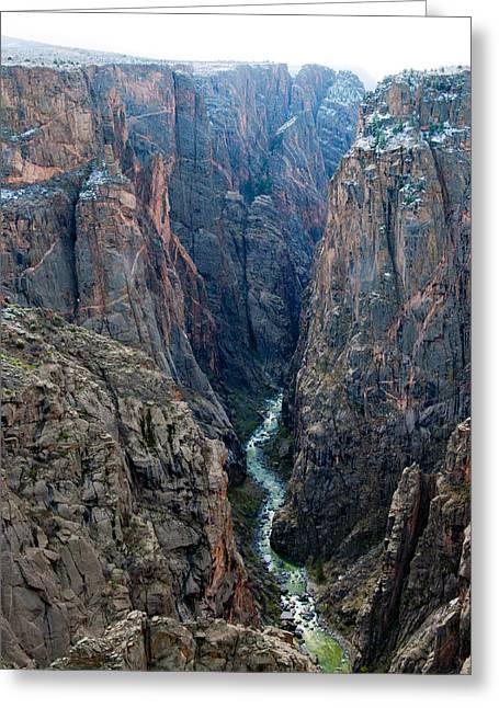Black Canyon The River  Greeting Card