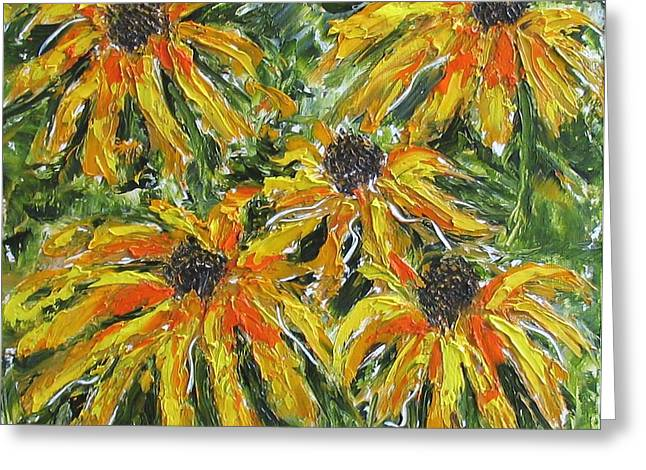 Black-eyed Susan Greeting Card