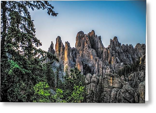 Black Hills Needles Greeting Card