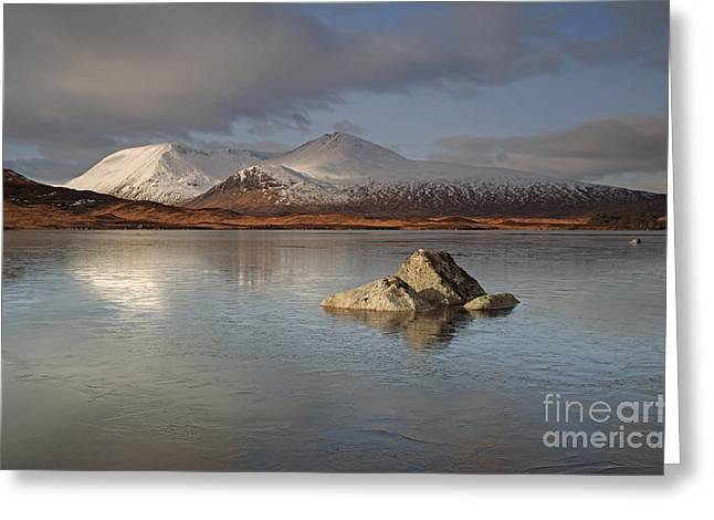 Black Mount And Lochan Na H-achlaise Greeting Card