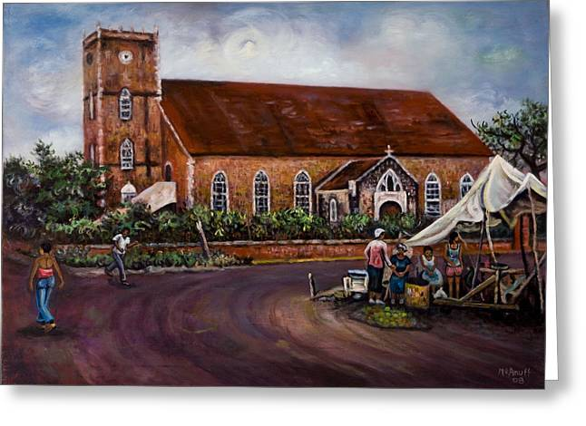 Black River Parish Church Greeting Card