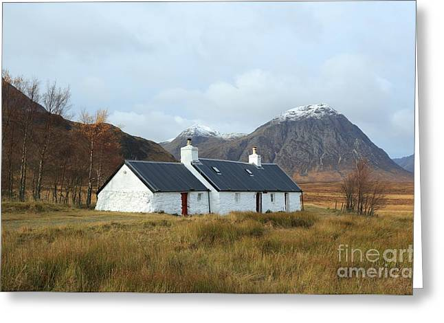 Black Rock Cottage Greeting Card
