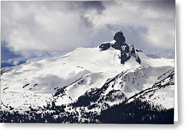 Black Tusk Peak Greeting Card