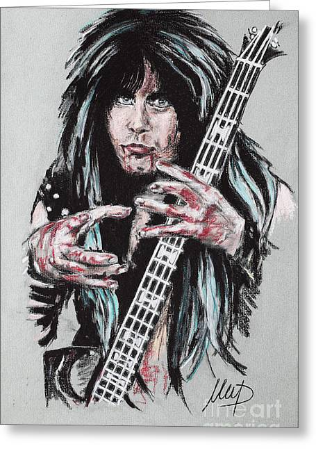 Blackie Lawless Greeting Card
