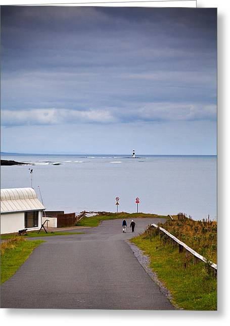Blackrock Lighthouse, Off Rosses Point Greeting Card