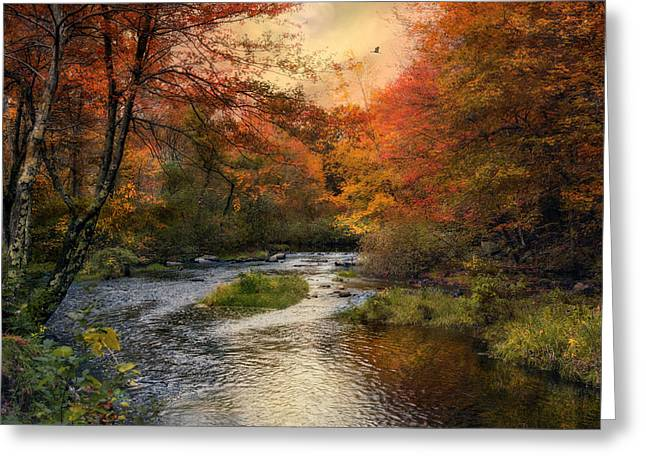 Blackstone River Greeting Card