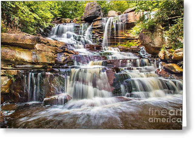 Blackwater Canyon Greeting Card by Lorie Osborne