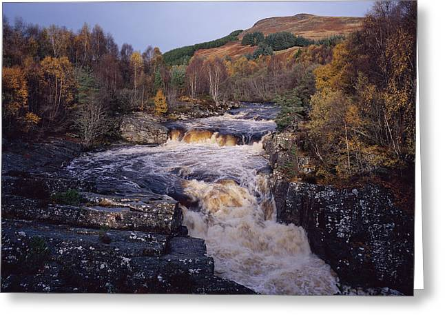 Blackwater Falls - Scotland Greeting Card