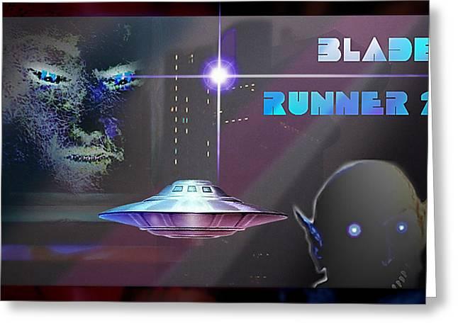 Blade Runner 2 Greeting Card