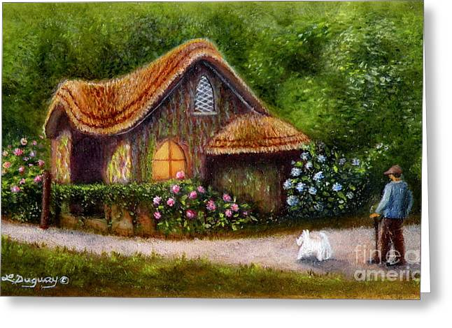 Blaise Rustic Cottage Greeting Card