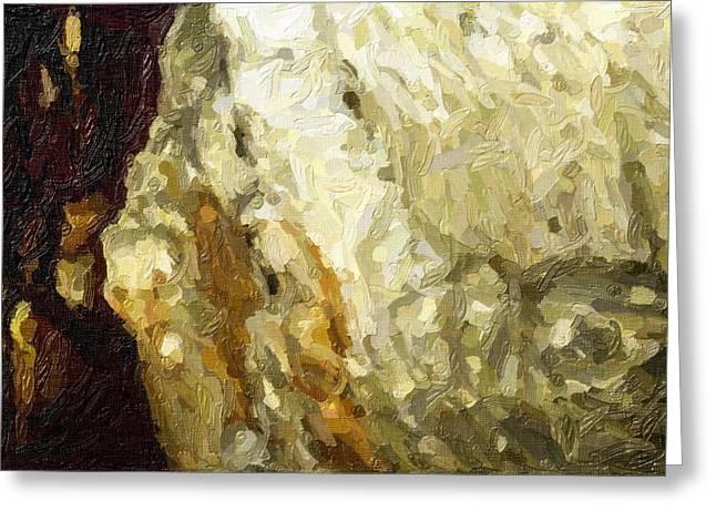 Blanchard Springs Caverns-arkansas Series 03 Greeting Card by David Allen Pierson