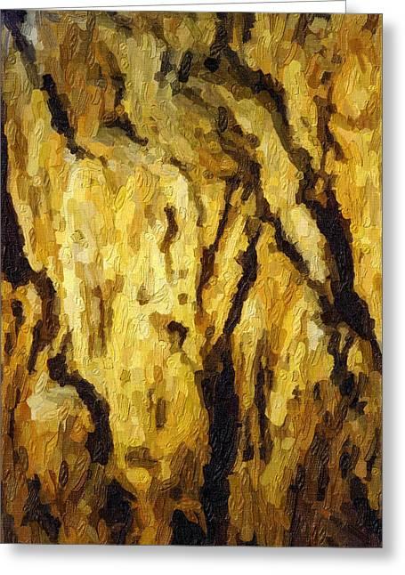 Blanchard Springs Caverns-arkansas Series 04 Greeting Card by David Allen Pierson