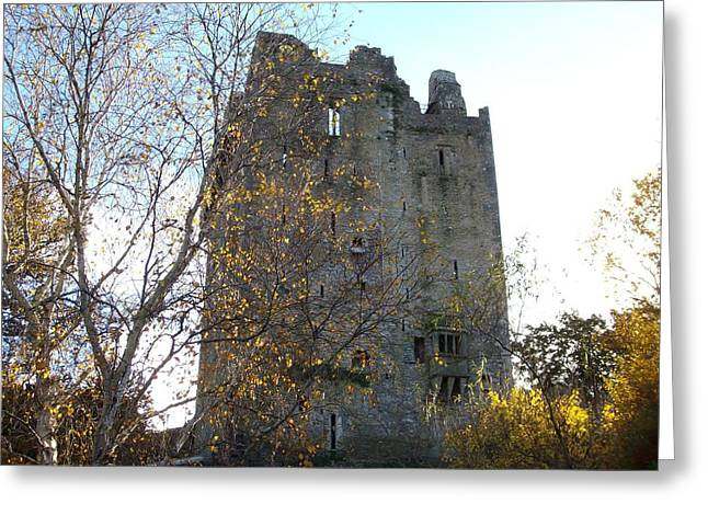 Greeting Card featuring the photograph Blarney Castle by Alan Lakin