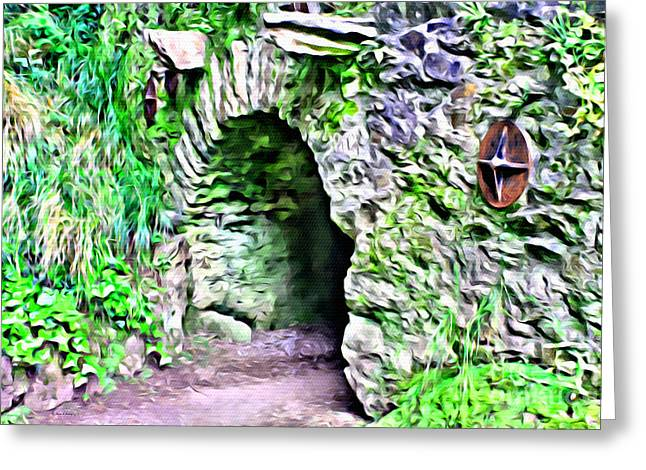 Blarney Cave Greeting Card