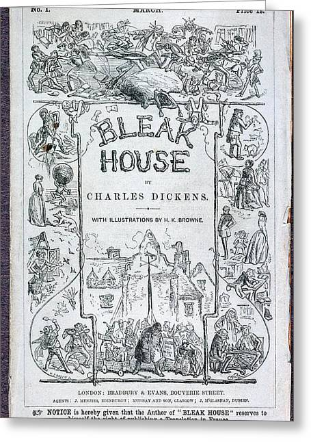 Bleak House Greeting Card by British Library
