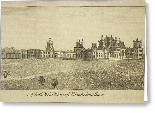 Blenheim Palace Greeting Card by British Library